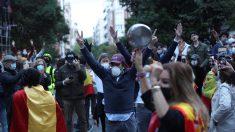 Varias protestas en España contra la gestión del presidente Pedro Sánchez y el Gobierno