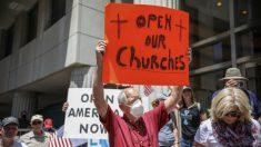 California emite pautas para la reapertura de los lugares de culto
