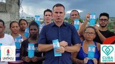 """Régimen cubano utiliza pandemia para """"encubrir y justificar su represión"""", dice activista Ferrer"""