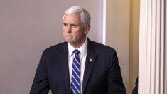 """Pence dice que es """"inaceptable"""" que Virginia sancione iglesia por celebrar misa con 16 personas"""
