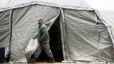 Hospital de Campo de Nueva York de USD 21 millones cierra sin ver a los pacientes