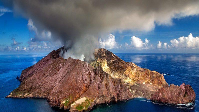 Volcán en Nueva Zelanda (Pixabay)