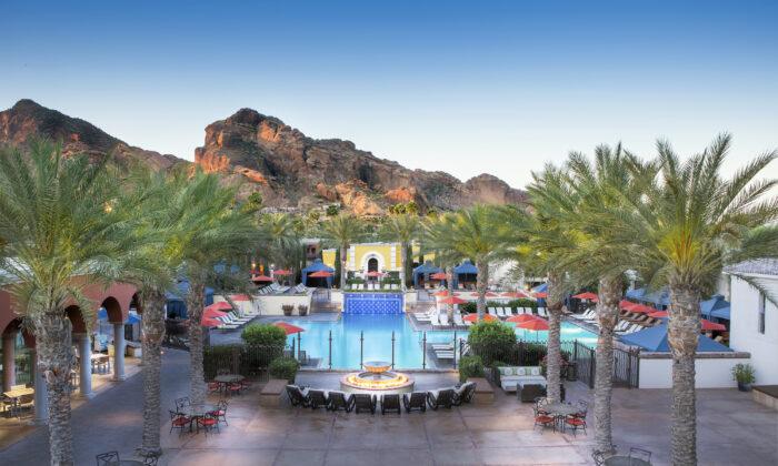 El centro turístico Omni Scottsdale en Montelucia abrirá de nuevo el 21 de mayo. (Cortesía de Omni Hotels)