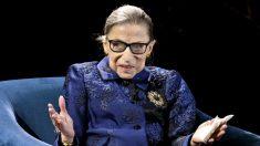 Entierran a la jueza Ruth Bader Ginsburg