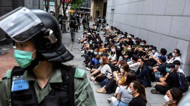 Artículo publicado en periódico chino en Toronto y Nueva York apoya ley de seguridad de Hong Kong