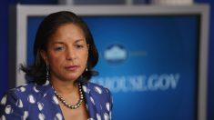 Susan Rice de la administración Obama responde a desclasificación de su correo electrónico