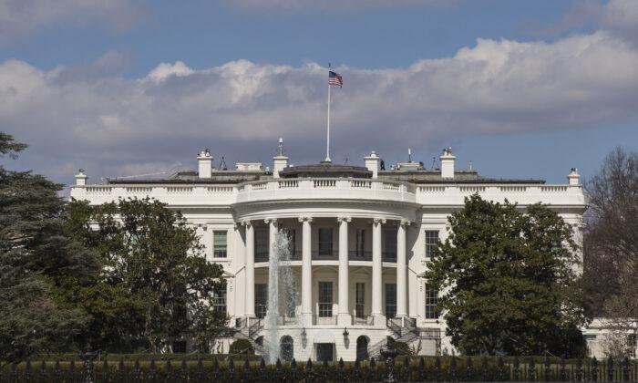 La Casa Blanca en Washington el 8 de marzo de 2018. (Samira Bouaou/The Epoch Times)