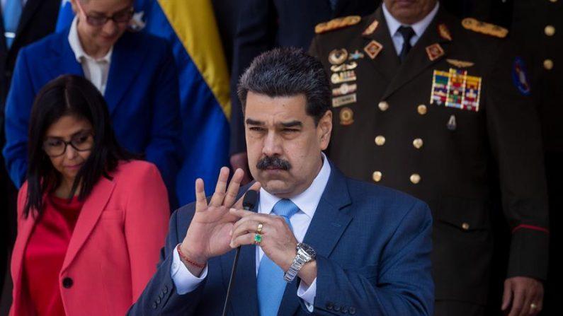 En la imagen, el líder socialista de Venezuela Nicolás Maduro. EFE/ Miguel Gutiérrez/Archivo