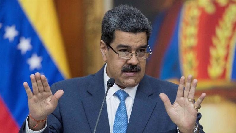 El líder chavista de Venezuela, Nicolás Maduro. EFE/ Rayner Peña/Archivo
