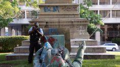 Grupo Latinos por Trump rechaza destrucción de estatuas de figuras hispanas
