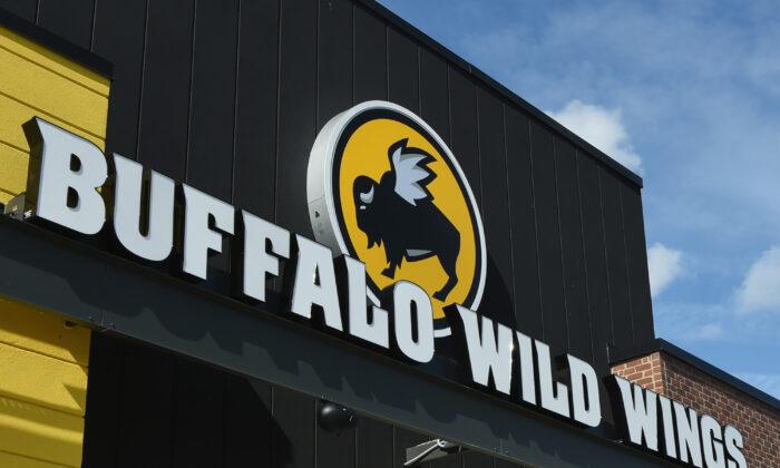 El exterior de Buffalo Wild Wings en Jacksonville, Florida, el 1 de febrero de 2018. (Rick Diamond/Getty Images para Buffalo Wild Wings)