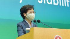 Líder de Hong Kong pide que sean buenos ciudadanos para China en aniversario de protestas