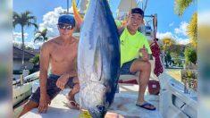 Pescadores en Hawaii capturaron 220 libras de atún y las donaron a trabajadores de la salud