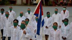 Controversia en México por médicos cubanos contratados durante la pandemia