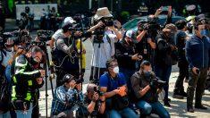 Periodistas exigen a la policía detener ataques contra la prensa en las protestas por George Floyd