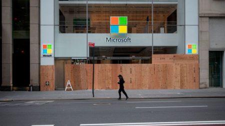 Microsoft cerrará casi todas sus tiendas físicas alrededor del mundo
