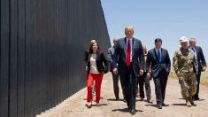 """Trump celebra construcción de más de 200 millas del muro fronterizo """"más poderoso y completo"""" del mundo"""