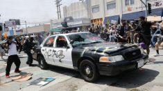 Los Ángeles recorta entre 100 y 150 millones de dólares del presupuesto de la policía