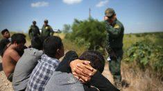 Suben un 40 % los inmigrantes detenidos en la frontera EE.UU.-México en junio