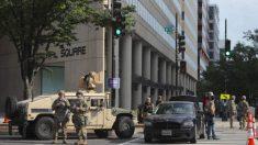 Trump prefiere usar a la Guardia Nacional en vez de a los militares para contener los disturbios