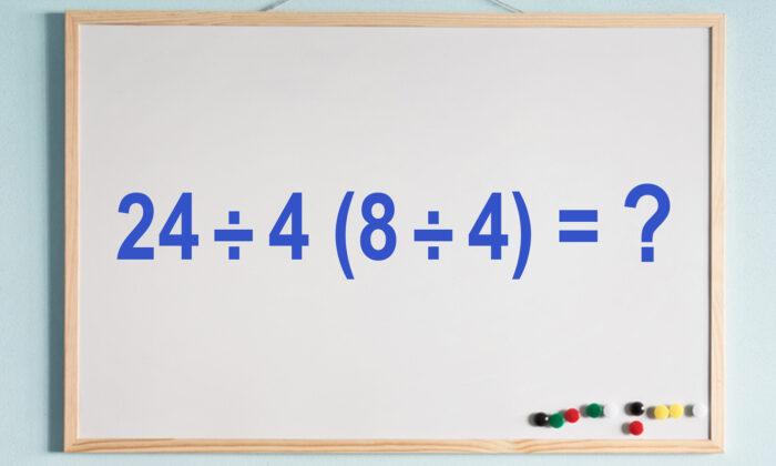 Hay Varias Soluciones Para Este Dificil Problema De Matematicas Puede Hallar La Respuesta Correcta Ecuacion The Epoch Times En Espanol