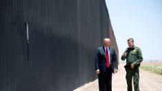 Uso de fondos militares para el muro fronterizo es ilegal, dictamina Corte Federal