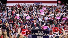 Trump cambia mitin al 20 de junio, más de 300,000 personas solicitaron entradas