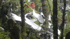 Mueren seis personas en accidente de avioneta en el norte de México