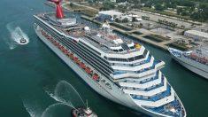Cruceros Carnival reporta 4400 millones de dólares de pérdidas en la industria mientras azota el virus