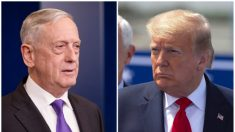"""Trump responde luego de que exsecretario de Defensa Mattis dijera que el presidente """"intenta dividirnos"""""""