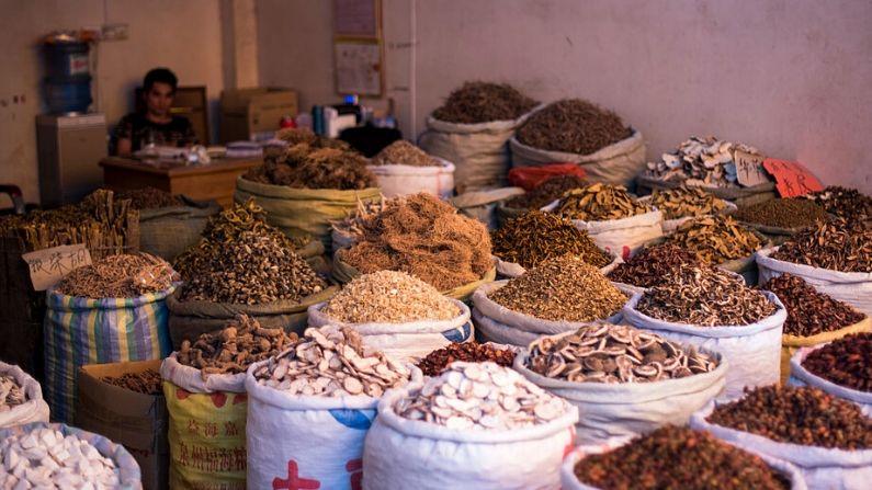 Hierbas medicinales chinas, aumentan la capacidad para mantener la salud, tanto del cuerpo como  del espíritu y equilibrar la energía.(JOHANNES EISELE/AFP via Getty Images)