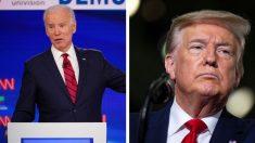 """Trump acusa al personal de campaña de Biden de ayudar a sacar a los """"anarquistas de la cárcel"""""""