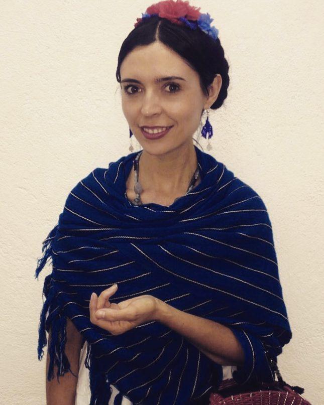 La cultura tradicional local es una de las fuentes de la inspiración creativa de Jeny. (Cortesía de Jennifer Pascual)