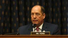Rep. Ted Yoho presenta proyecto de ley para responder ante una invasión de China a Taiwán