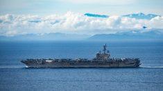 """Hay ejercicios navales a nivel récord en el Pacífico pero EE.UU. """"no busca conflictos"""", dice Esper"""