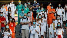 Sanitarios con especialidad en huelga en Madrid por situación laboral