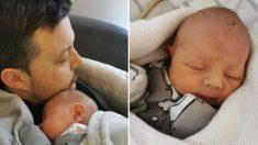"""Mamá comparte advertencia desgarradora a los padres después de tener bebé """"perfecto"""" que nunca lloró"""