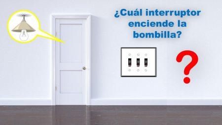 Pruebe su lógica: ¿Puede averiguar qué interruptor enciende la bombilla en este acertijo?