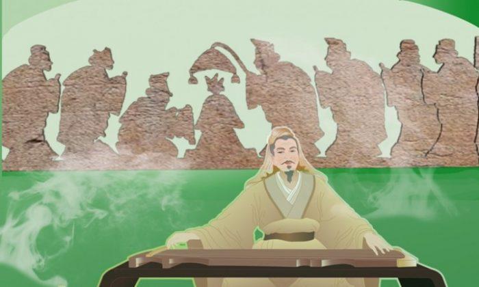 El Duque de Zhou, quien creó los benevolentes ritos de Zhou, ha sido considerado una figura ejemplar durante más de 2000 años. (Catherine Chang/The Epoch Times)