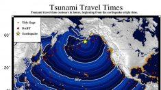 Alerta de tsunami en las costas de Alaska tras fuerte sismo de magnitud 7.8