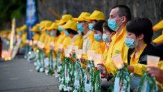 Practicantes de Falun Gong se niegan a ser silenciados y exponen una persecución de 21 años (Fotos)