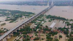 La ciudad china de Wuhan, en alerta roja por posibles inundaciones