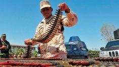 Detienen a un estadounidense en la frontera mexicana con 5000 cartuchos