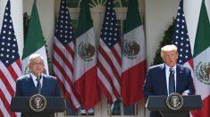 Trump y AMLO celebran el USMCA en la Casa Blanca