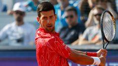 Djokovic y su esposa dan negativo en un nuevo test del virus del PCCh