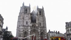 La justicia sospecha que el incendio en la catedral de Nantes tuvo un origen criminal