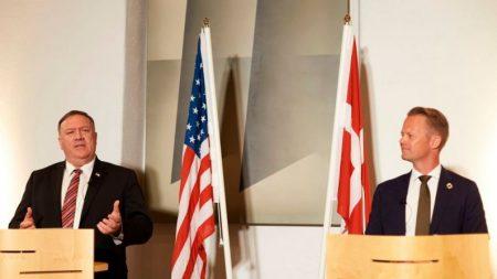 Pompeo: EE.UU. y Dinamarca cooperarán para hacer frente a la competencia en el Ártico de Rusia y China