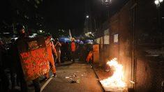 Alborotadores rompen cerca de juzgado en Portland, obligando la respuesta de las fuerzas federales