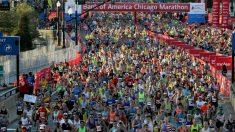 Cancelan el maratón de Chicago por el virus del PCCh
