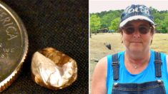 Mujer desentierra el diamante más grande de 2020 en el Parque Estatal del Cráter de Diamantes